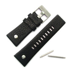 Diesel Genuine Original Watch Strap Real Leather S/Steel Buckle for DZ7125