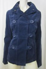 AUTHENTIC MOSSIMO SUPPLY CO. WOMEN'S PEACOAT JACKET SZ MED, BLUE VIC-THOR1