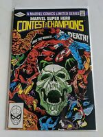 Marvel Super Hero CONTEST OF CHAMPIONS #3 August 1982 Marvel Comics