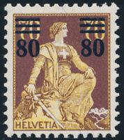 SCHWEIZ 1915, MiNr. 127, tadellos postfrisch, Mi. 100,-