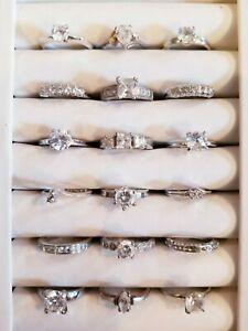 AWESOME Vintage Mod Ring LOT 925 Uncas Avon 18khge Vargas 925