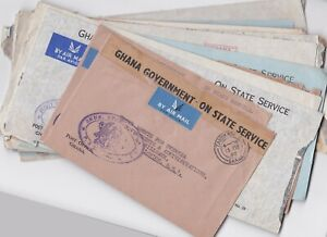 Ghana Batch of covers, FDC, some commercial and good range of Ghana Government