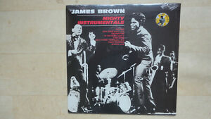DISQUE VYNIL 33 TOURS JAMES BROWN MIGHTY INSTRUMENTALS NEUF HORS COMMERCE
