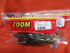 """2 Packs 5 Cnt ZOOM 7/"""" Magnum Super Fluke #112-185 WHITE ICE"""