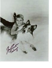 Jon Provost Lassie Signiert 8x10 von die Hollywoodshow