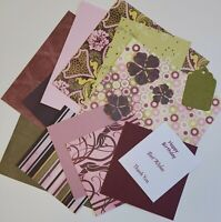 6x6 Paper Card Making Kit Junk Journal Lovely Gift - Popping Candy