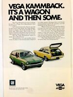 1971 Chevrolet Vega Kammback Wagon Print Ad