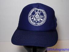 Vtg INTERNATIONAL ASSOCIATION OF MACHINISTS & AEROSPACE WORKERS Snapback Hat Cap