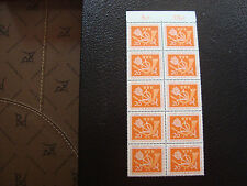 ALLEMAGNE (rfa) - timbre - yvert et tellier n° 133 x10 n** (A5) stamp germany