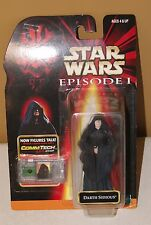Star Wars Ep 1 Darth Sidious Collection 2 Action Figure 84087 CommTech Chip 1998