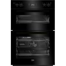 Beko BDF22300B A Rated Built-in Double Programmable Oven with Timer in Black