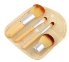 4 pieces Professional Makeup Brush Set Makeup Kit Bag Case Pouch