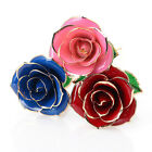 24K Gold Plated Rose Valentine Mothers Day Girlfriends Flower Decor Gift