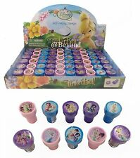 24PC DISNEY TINKERBELL FAIRIES STAMPS STAMPERS PARTY FAVOR CANDY BAGS GIFTS