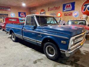 1970 Chevrolet C-10 NO RESERVE! pick up truck! v8 HD VIDEO