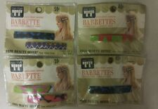 Vintage Barrettes! Heavy-duty! Unique old hard to find retro / collectable Items