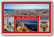 FRIDGE MAGNET - ALICANTE - Large - Spain TOURIST
