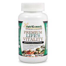 NutriCommit Premium Multivitamin Mineral Supplement-42 Fruits,Vegetables,Plant E