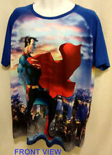 SUPERMAN 2XL T-SHIRT DC COMICS NEW WITH TAG DISCONTINUED 395840