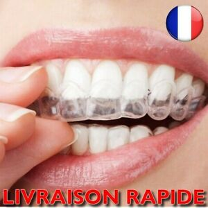 Protège Dents Gel 1 Paires Blanchiment Bouclier Gomme thermique amovible Bouche