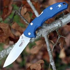 Couteau Boker Plus USA Blue Satin Lame Acier 154CM Manche FRN Made USA BOP03651