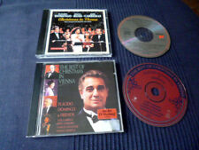 2 CDs Christmas in Vienna 1 +Best Of Domingo Carreras Sissel Warwick Weihnachten