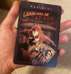 Halloween Horror Nights Tarot Card Jack