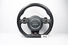 AUDI A3 S3 STEERING WHEEL WITH AIRBAG MULTIFUNCTION BUTTONS FLAT BOTTOM #85