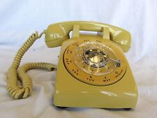 Rotel com Phone  Refurbished Rotary Dial Desk Phone Gold Working