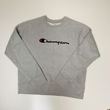 Champion Reverse Crewneck Sweatshirt Size Medium