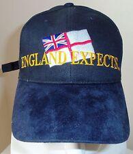 England Expects ... Nautical Marine Baseball cap with Sailing and Yachting logo