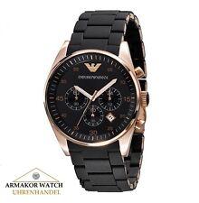 Original EMPORIO ARMANI AR5905 Herren Uhr Chronograph UVP 389,00 € NEU & OVP