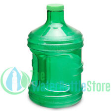 1 Gallon BpA Free Reusable Plastic Drinking Water Bottle Jug Container Green New