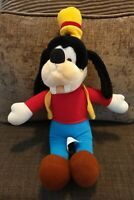 Disney Goofy 1989 Hasbro Plush Soft Toy Vintage 80s The Walt Disney Company 15""