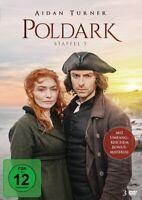 POLDARK-STAFFEL 5 (STANDARD EDITION) - POLDARK  3 DVD NEU