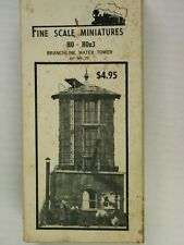 Fine Scale Miniatures - Branchline Water Tower - Kit #25 - HO scale