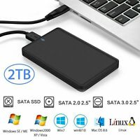 2.5'' SATA USB 3.0 HDD Hard Drive External Enclosure SSD Disk Box Case Caddy UK