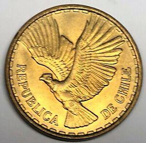 # C6098    CHILE     COIN,     TEN  CENTESIMOS    1970