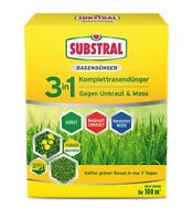 SCOTTS Substral® 3in1 Komplett Rasendünger, 3,6 kg für 100 m²