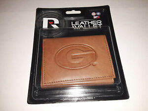 Georgia Bulldogs NCAA Embossed  Leather Tri-Fold Men's Wallet By Rico