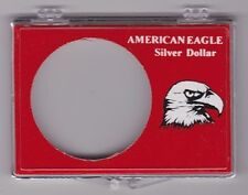 "LOT OF 108 SILVER EAGLE 2"" X 3"" SNAPLOC HOLDERS          #ACS-SE"