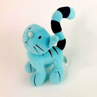Vintage Retro Pilchard the Cat Small Plush Toy from Bob the Builder Kids TV Show