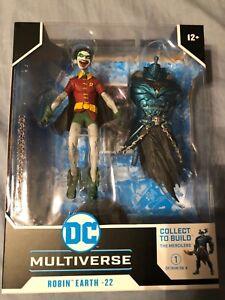 McFarlane Toys DC Multiverse Robin Earth-22 Dark Nights Metal Merciless BAF
