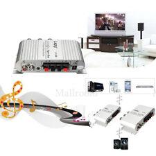 Mini 12V Auto Stereo Audio Verstärker motorrad Bass Lautsprecher Boostrer Player