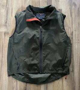 Vintage Polo Sport Ralph Lauren Zipper Vest Size L Olive Green Explorers Vest