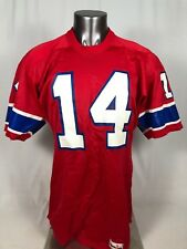 STEVE GROGAN NEW ENGLAND PATRIOTS VINTAGE 1980 S SPANJIAN JERSEY ADULT LARGE ae9e264ac