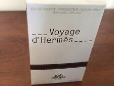 """Hermes """"Voyage d' Hermes Eau De Toilette Vaporisateur Natural Spray New 35MlL"""