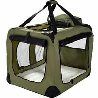 Pet Carrier Crate for Dogs, Cats or Small Animals, Lightweight Fabric