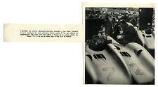1954 / Article pour une VOITURE DE COURSE / ALLEMAND MERCEDES / LD62
