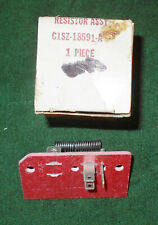 1961 1962 1963 Ford Thunderbird Lincoln Continental NOS HEATER BLOWER RESISTOR